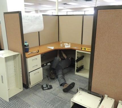 Furniture Installation. 1